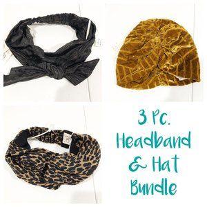 A New Day | 3 Piece Bundle 2 Headbands & 1 Hat